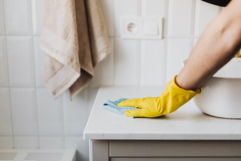 Čiščenje stanovanja - kopalnica