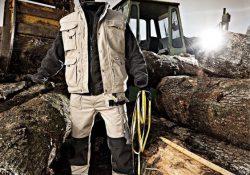 Delovne obleke za delo v gozdu